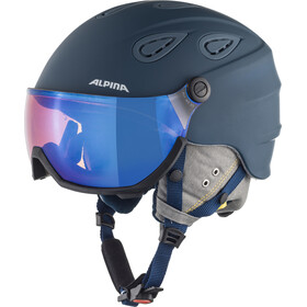 Alpina Grap Visor 2.0 HM Casco de esquí, ink-grey matt
